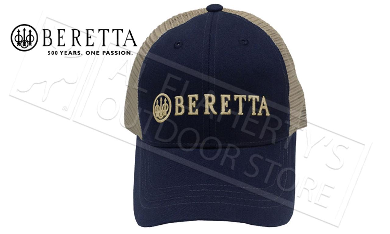 42276205b10 Beretta LP Trucker Hat in Navy Blue  BC05201660 - Al Flaherty s ...
