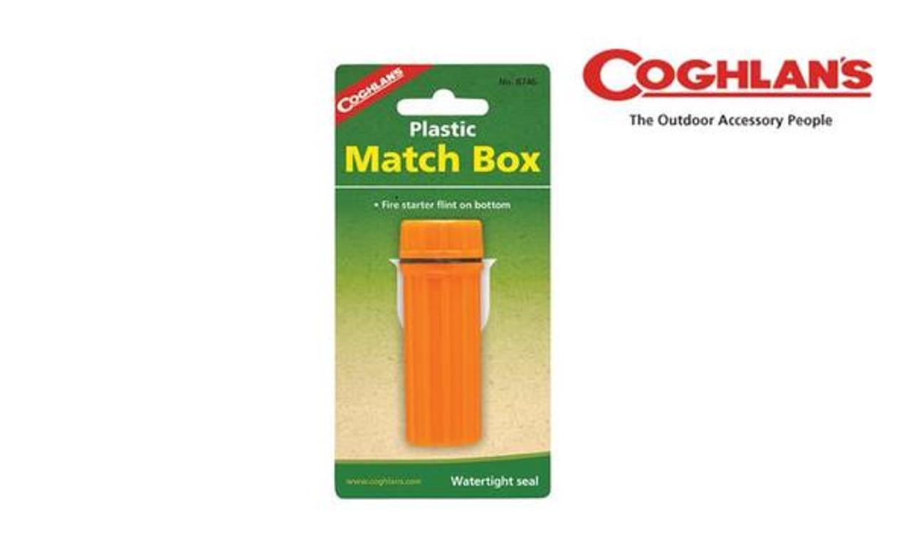 cf00b85cc2 Coghlan's Plastic Match Box, Waterproof with Striker #8746 - Al ...