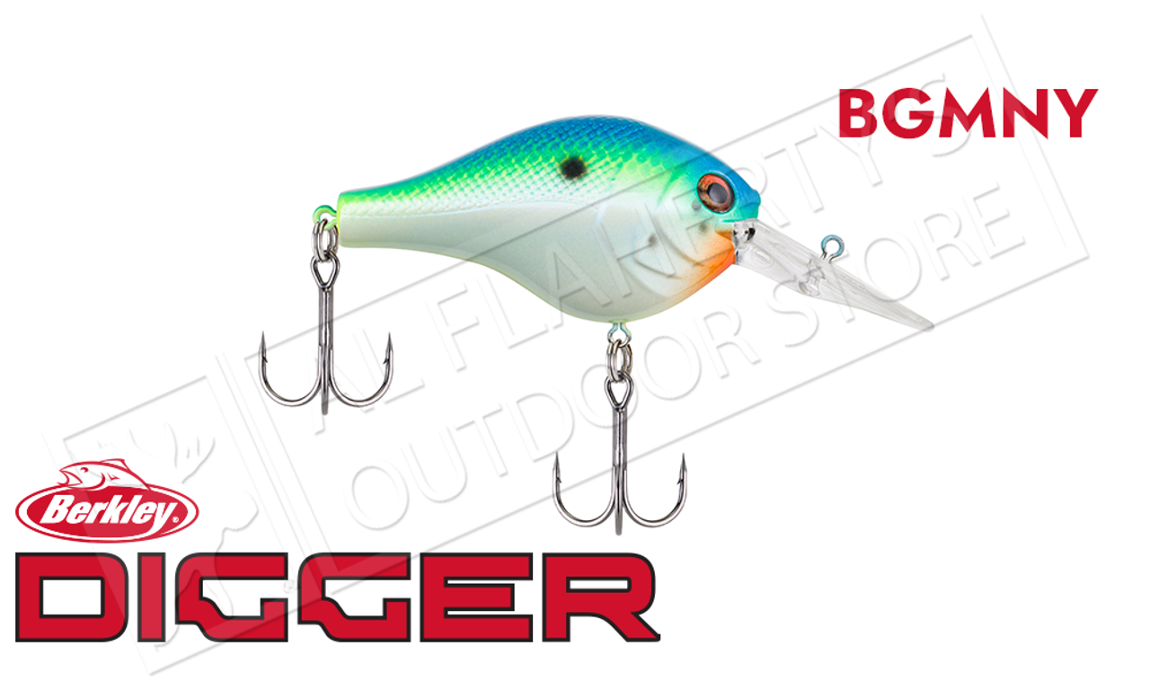 "5//8 oz Gilly - 2-1//2/"" Berkley  Dredger 14.5 Crankbait NEW!"
