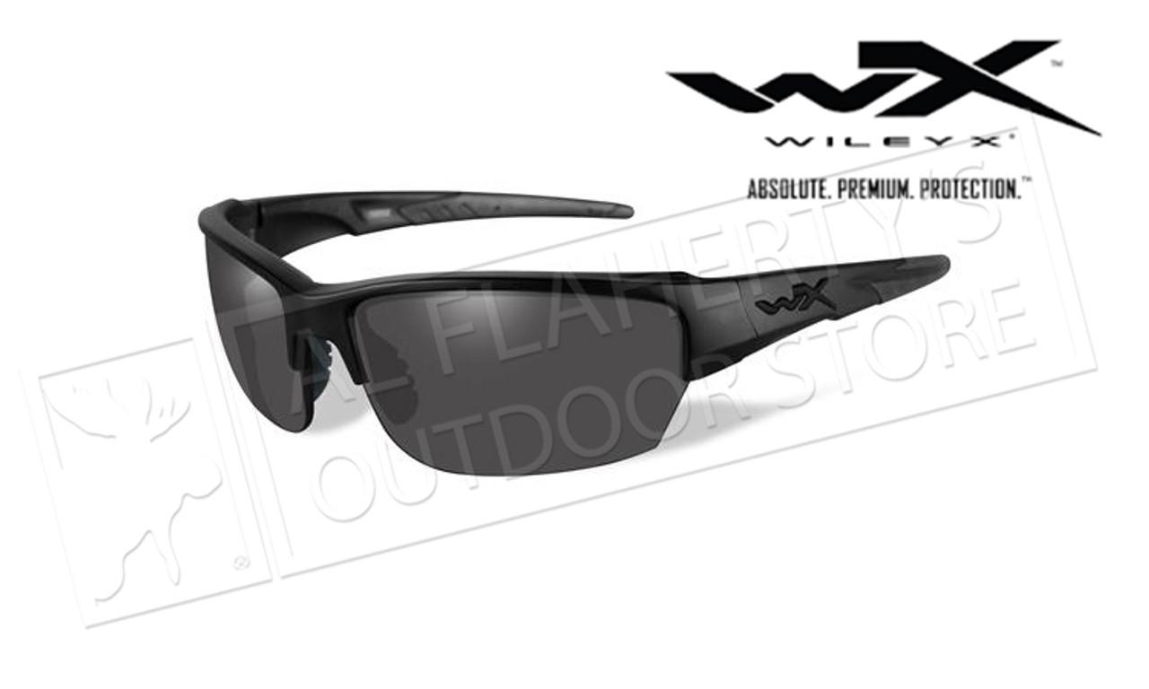 f7a879ef6819 Wiley X Saint Black Ops Smoke Grey/Matte Black Frame - Al Flaherty's ...