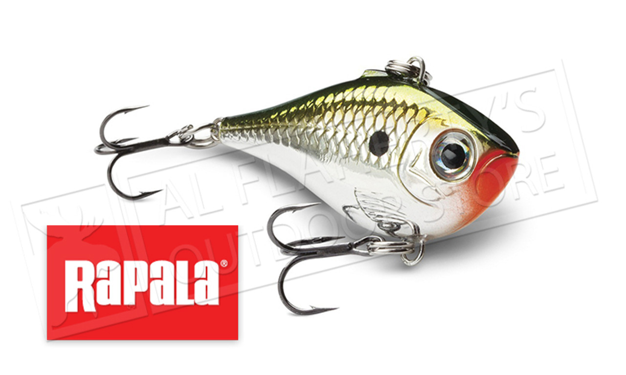 "Rapala Slab Rap 05 SLR05-GHP Glow Hot Perch 2/"" 1//4 oz Ice Fishing Lure"
