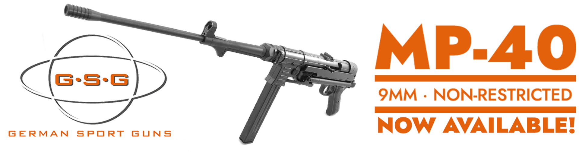 Just Arrived at Al Flaherty's in Toronto - the non-restricted GSG MP40 9mm Carbine!