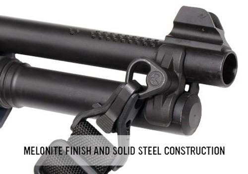 Magpul MAG508-BLK : Forward Sling Mount For MAG508-BLK : Forward Sling Mount - For Remington 870 and Mossberg 500/590