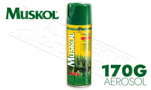 Muskol Aerosol Insect Repellent, 170g Cannister #12100