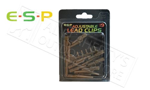 E-S-P Adjustable Lead Clips, 10 Pack #ESBC09