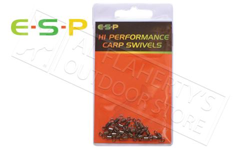 E-S-P Hi Performance Carp Swivels - Size 9 Pack of 20 #ESCSWL
