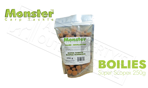 Monster Boilies - Super Scopex 16mm, 250 grams #MCB16M-S