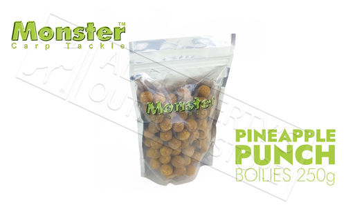 Monster Boilies - Pineapple Punch 16mm, 250 grams #MCB250P