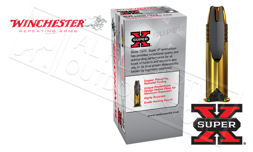 Winchester 22LR Super-X Power-Point Copper Jacket HP 40 Grain Box of 50 #X22LRPP