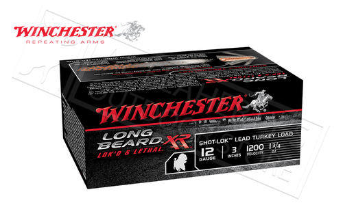 "Winchester Elite Long Beard XL Turkey Shells 12 Gauge 3"" 1-3/4 oz., #4, 5, 6 Shot, 1200 fps, Box of 10 #STLB123"