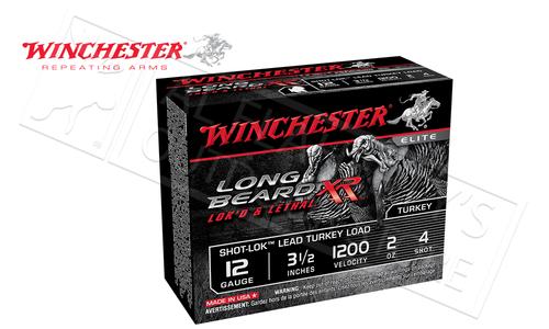"Winchester Elite Long Beard XL Turkey Shells 12 Gauge 3-1/2"" 2 oz., #4, 5, 6 Shot Box of 10 #STLB12L"