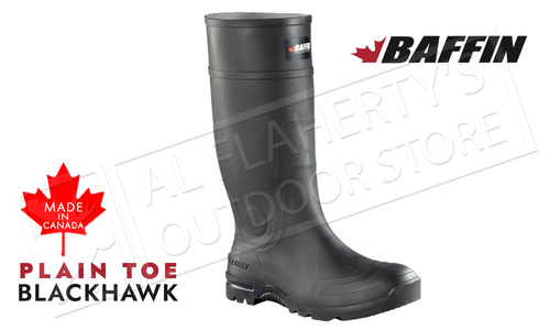 Baffin Blackhawk Plain Toe Rubber Boot #LICOM001
