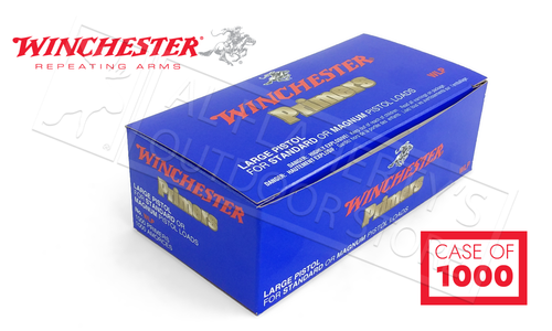 Winchester Primers - Large Regular Pistol Strip of 100 #WLP