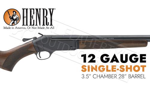 """Henry Single Shot Shotgun 12 Gauge, 28"""" Barrel #H015-12"""
