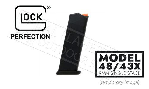 Glock Magazine 48/43x 9mm Full Size 10-Round
