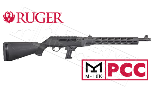"Ruger PC Carbine Canadian Free Floating M-LOK Handguard Non-Restricted, 9mm 18.6"" Barrel"