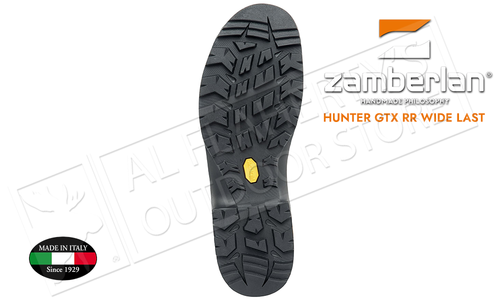 Zamberlan 1004 Hunter GTX RR Wide Last Boots, Sizes 8-13 #1004PM0G-0C