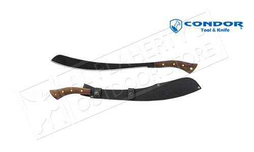 "Condor TK Parang Machete with Leather Sheath and 17.5"" Blade #CTK412-17HCS"