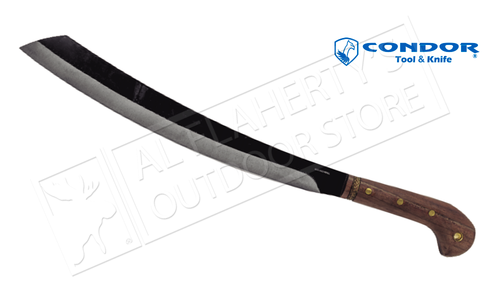 "Condor TK Duku Parang Machete with Leather Sheath and 16"" Blade #CTK425-16HC"