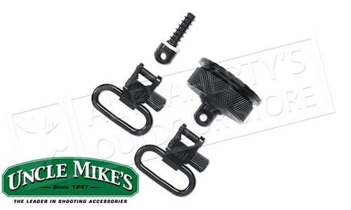 """Uncle Mike's QD Swivels Remington 870 Blues 1"""" Width #18012"""