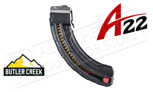 Butler Creek A-Series A22MAG 25-Round Magazines #BCA22MAG25