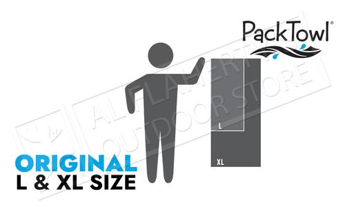 PackTowl Original Pack Towel L-XL #0910