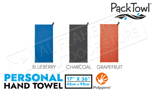 "PackTowl Personal Hand Towel - Various Patterns 16.5"" x 36"""