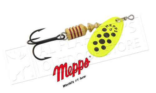 Mepps Comet Spinners with Interchangeable Hooks Size 4, 1/3 oz. #C4