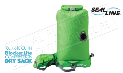 SealLine BlockerLite Compression Dry Sacks with PurgeAir Valve - 10L #10267