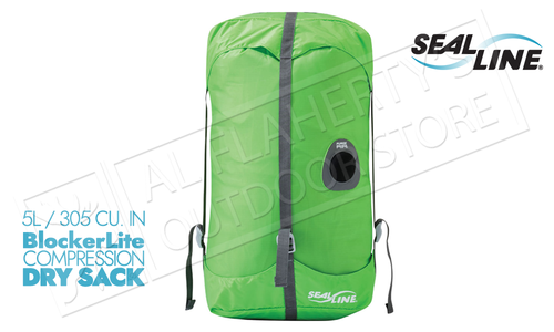 SealLine BlockerLite Compression Dry Sacks with PurgeAir Valve - 5L #10266