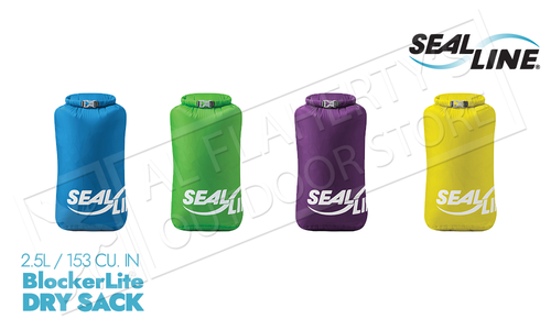 SealLine BlockerLite Dry Sacks - 2.5L Various Colours #DRYSACK2.5