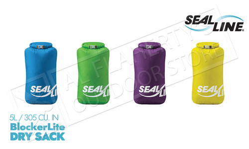 SealLine BlockerLite Dry Sacks - 5L Various Colours #DRYSACK5
