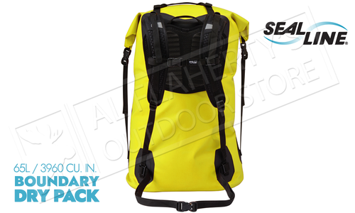SealLine Boundry Dry Pack Portage Backpack - 65 Liter #BNDR65