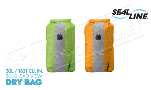 SealLine Bulkhead View Dry Bag - 30L with PurgeAir #0968
