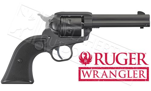 Ruger Wrangler Single-Action Revolver in Black Cerakote 22LR #2002