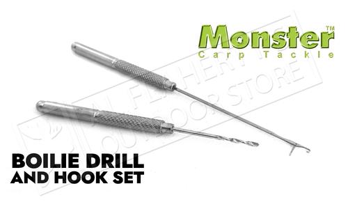 Monster Boilie Hook & Drill Set #CXBDHK