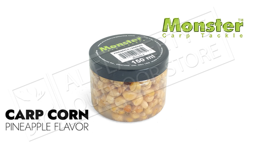 Monster Carp Corn, Pineapple Crush, 8 oz. Jar #MCCORN-P