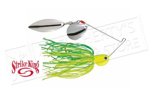 Strike King PotBelly Dual-Blade SpinnerBaits, 3/8 oz. Various Patterns #PB38CW