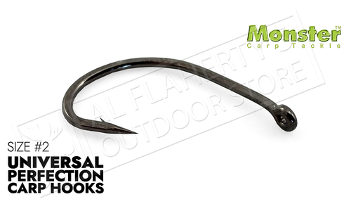 Monster Carp Universal Perfection Hooks, Size #02, pack of 10 #MCUP02