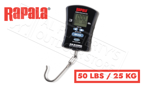 Rapala Compact Touch Screen Fish Scale 50lbs #RCTDS50