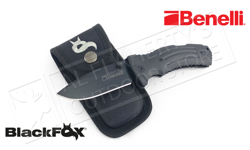 Benelli Folding Knife Kuma by Black Fox Blades #BF-704 BF-130GR
