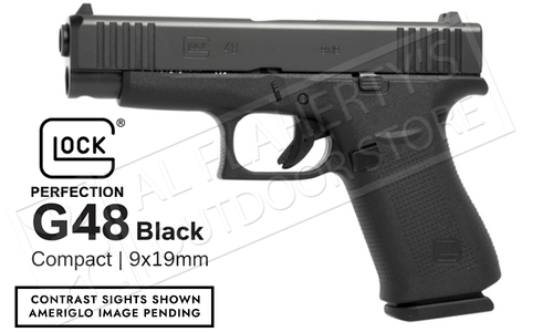 Glock 48 Black Ameriglo Bold Sight 9mm