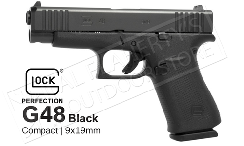 Glock 48 Black Fixed Sight 9mm
