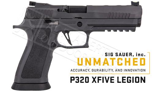 SIG Sauer Handgun P320 X-Five Legion Full-Size 9mm #320X5-9-LEGION-R2-10