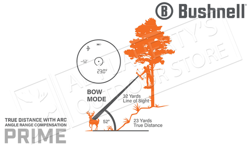 Bushnell Prime 1300 Laser Rangefinder 6x24mm with ARC #LP1300SBL