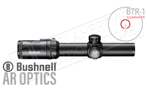 Bushnell AR Optics Scope 1-6x24 with BTR-1 Illuminated Reticle #AR71624I