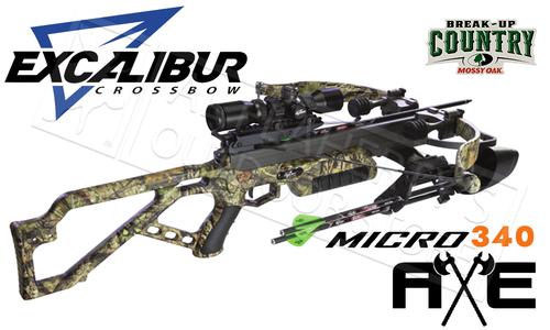 Excalibur Micro Axe Crossbow Combo in MOBUC Camo #E73687