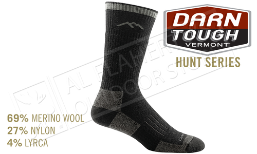 Darn Tough Sock Hunter Full Cushion Socks in Charcoal #2012
