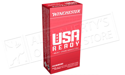 Winchester 9mm USA Ready Select Grade Ammunition 115 Grain Box of 50 #RED9