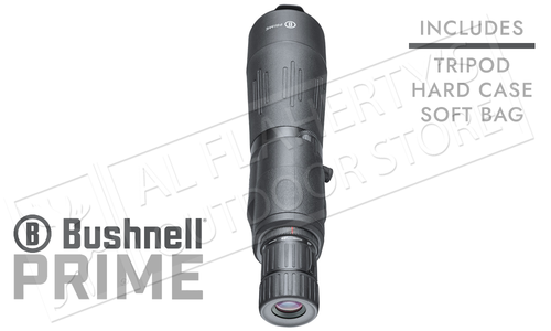 Bushnell Prime Spotting Scope 20-60x65mm with Tripod and Case #SP206065AB